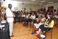 Speaking engagements are ideal venues for book PR.