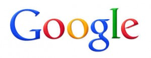 The Google multicolored logo.