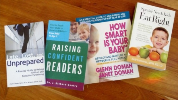 Four parenting books that CS Lewis & Co. did book publicity for.